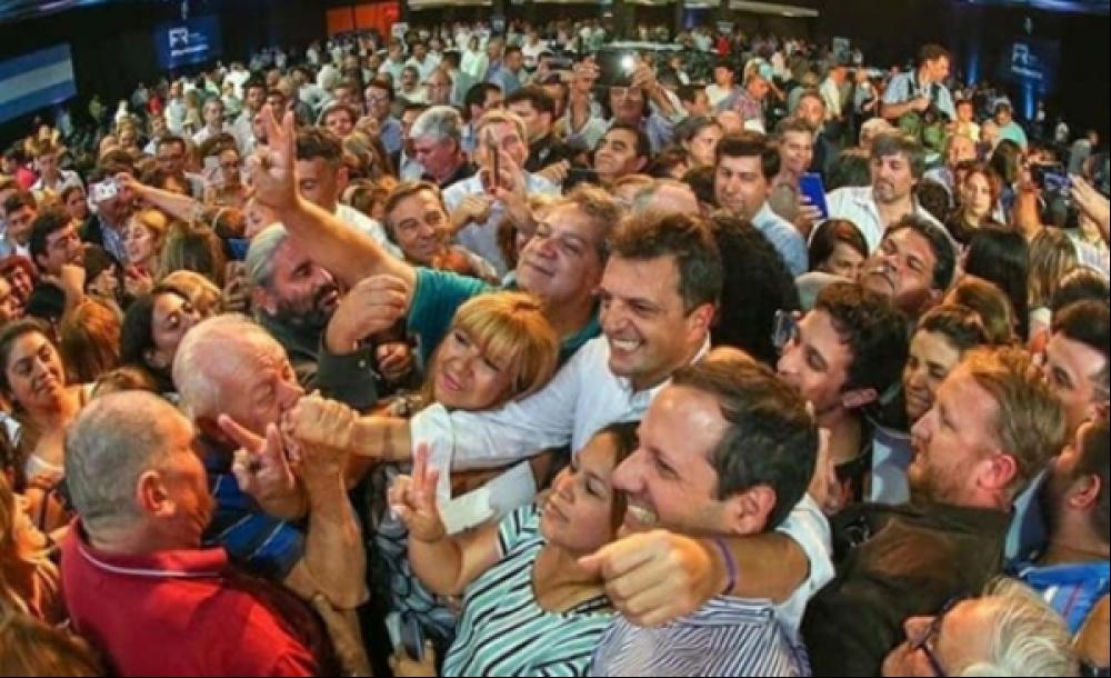 """Congreso Nacional del Frente Renovador. Lissalde: """"Massa es la única alternativa ante el evidente fracaso de Macri"""""""