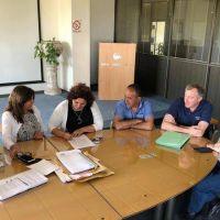 Obras Sanitarias, con Bolgieri a la cabeza, avanza con la obra cloacal de Faro Norte