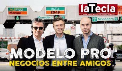 Larreta le cuida los negocios a Macri y a la banda de amigos del Newman