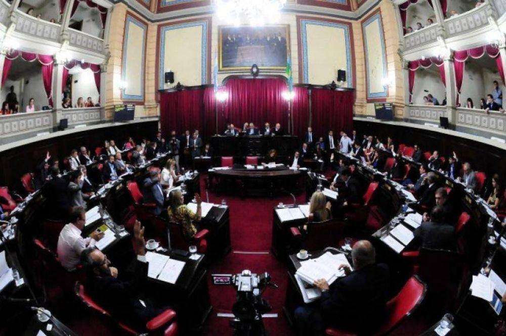 El Senado sesiona para aprobar a los candidatos del Tribunal de Cuentas y Banco Provincia