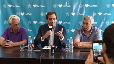 Garro anunció medidas sociales, un bono de $5 mil a municipales y de $3 mil a cooperativistas
