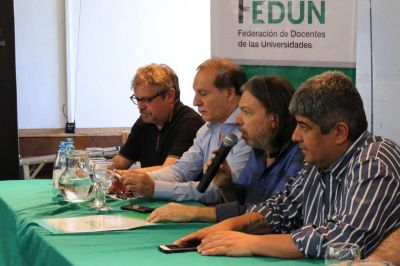 """Pablo Moyano, en el congreso de FEDUN: """"Nunca voy a firmar nada en contra de los trabajadores"""""""