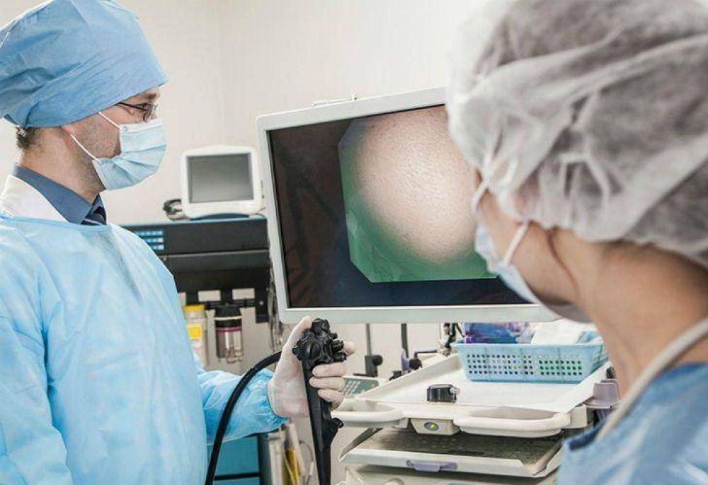 Se redujeron hasta un 50% las prácticas de endoscopías en el país