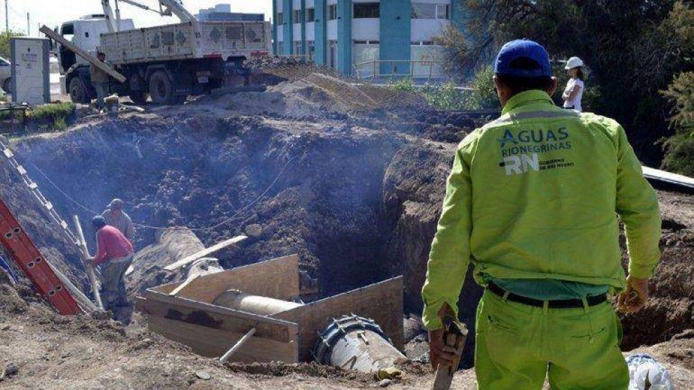 Provincia arrancará una nueva obra cloacal en Cipolletti