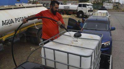 En Caleta volvió a tornarse crítico el desabastecimiento de agua potable