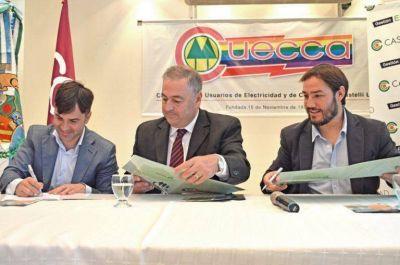Castelli adhirió a la red de municipios cooperativos