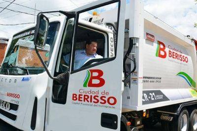 Berisso: basura acumulada tras una semana sin recolección por las malas condiciones de los camiones