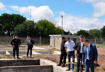 En el Penal de Sierra Chica, ya funciona la planta de tratamiento de efluentes