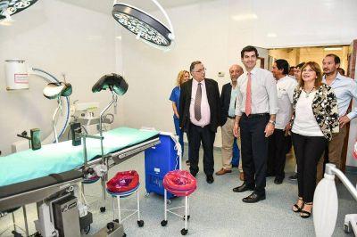Urtubey inauguró tres quirófanos en el hospital de General Güemes
