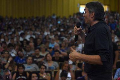 Máximo acusó a Cambiemos de instalar una campaña del miedo