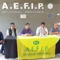 AEFIP Seccional Mercedes presentó balances