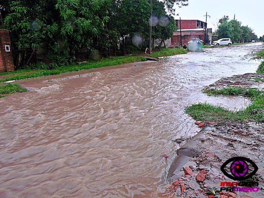 Vecinos realizaron un diagnóstico sobre los problemas pluviales del barrio Jardín