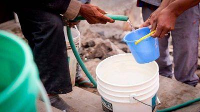 Solucionarán problema histórico de agua potable en Sorocayense