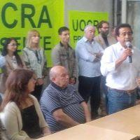 César Trujillo presidió entrega de diplomas a 300 trabajadores en el Centro de Formación Profesional de UOCRA