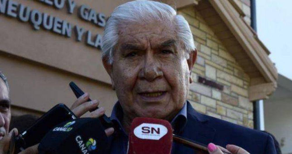 Pereyra furioso por las retenciones a las exportaciones de hidrocarburos
