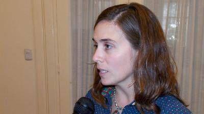 Jimena López, desayuno de trabajo con ex Directores de Cultura