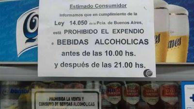 Las Estaciones de Servicio siguen vedadas de vender bebidas alcohólicas