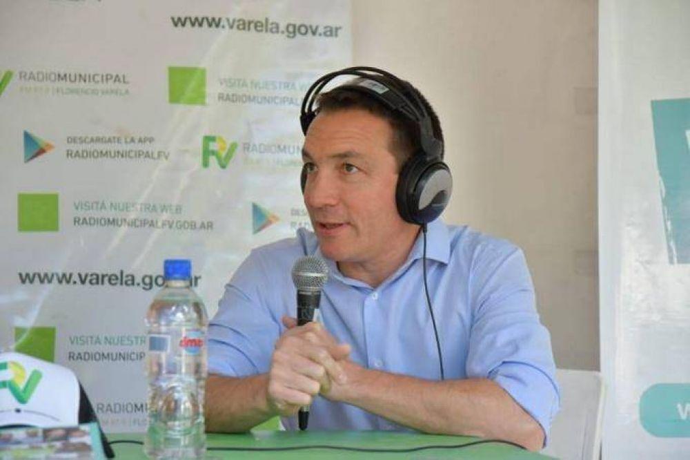 """El intendente de Florencio Varela mostró """"asco"""