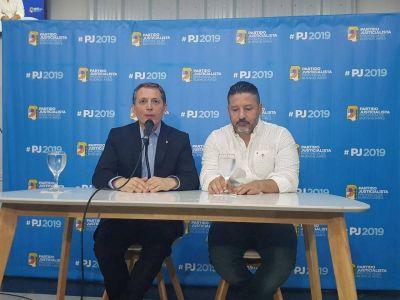 """Gray como flamante presidente del PJ se lanzó contra el desdoblamiento de las elecciones: """"Es una nueva farsa"""""""