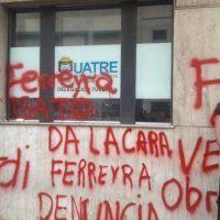 Dirigente de la Uatre insultó y amenazó a trabajadores que fueron a reclamar al gremio