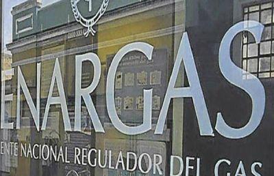 Enargas propone modificar la tasa por mora que pagan los subdistribuidores del servicio