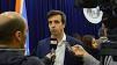 """Rubinos: """"Las nuevas obras en Puerto Almanza se inician con fondos nacionales"""""""
