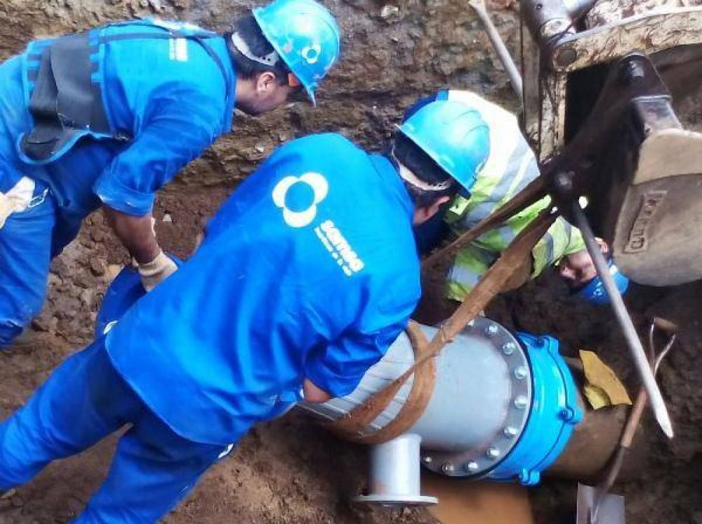 A cuidar el agua: se rompió un acueducto en la zona sur de Posadas