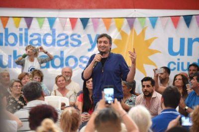 """Máximo, al PJ: """"la unidad no puede ser para que tal o cual gane una elección"""""""