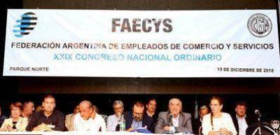 Más de 600 congresales respaldaron la gestión de Armando Cavalieri al frente de la FAECyS en el el 29º Congreso Ordinario