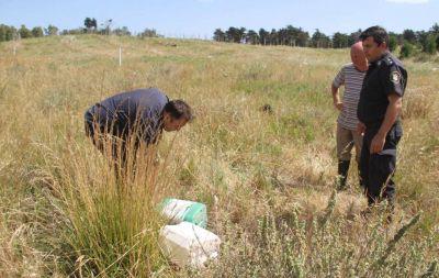 Olivares: La Policía Ambiental halló los bidones del ataque