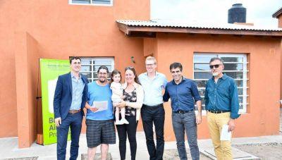 Tras 12 años sin un hecho similar, se entregaron 54 viviendas para familias de Necochea