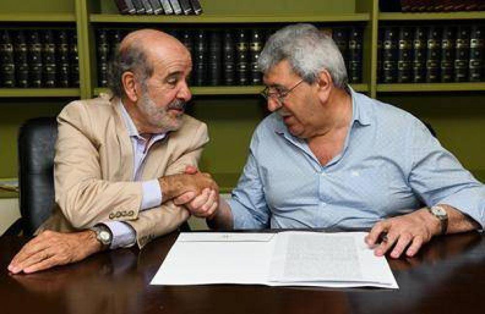 Ramón Ayala fue designado presidente del RENATRE