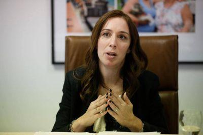 María Eugenia Vidal consultó en la Justicia por el desdoblamiento de la elección