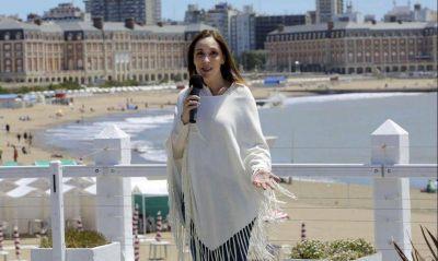 Vidal también para, pero hará campaña de verano con base en Mar del Plata