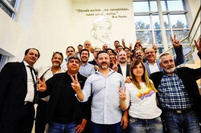 Fuerte respaldo a Menéndez: Sabbatella y Pablo Moyano acompañaron al alcalde en acto en Merlo
