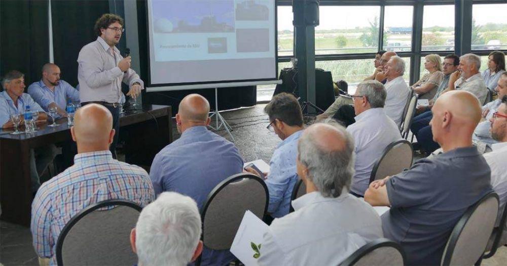 El municipio presentó el proyecto del biogás ante empresarios