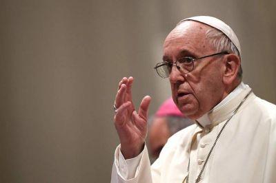 El Papa Francisco apuntó a la