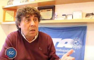 Micheli descree la sentencia judicial que le dio la legalidad a la CTA de Peidro y Godoy