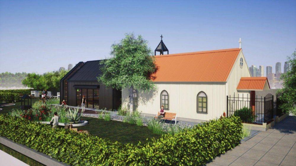 Capilla San José, en el bulevar: la recuperación de un edificio emblemático