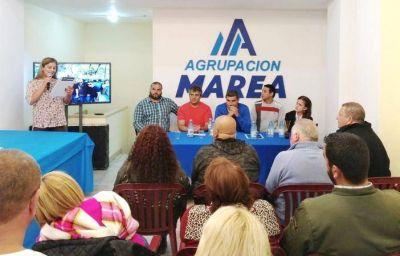 Municipales presentaron la Agrupación Marea que preside Diego Sosa