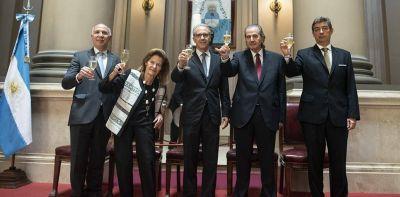 Las idas y vueltas de la histórica relación entre Carrió y Rosatti