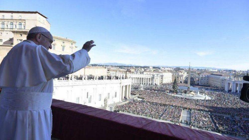 """Urbi et Orbi. El Papa: """"Navidad es fraternidad entre personas de toda nación y cultura"""""""