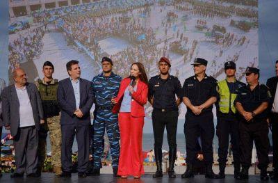 Vidal y Ritondo lanzaron el Operativo Sol en Mar del Plata