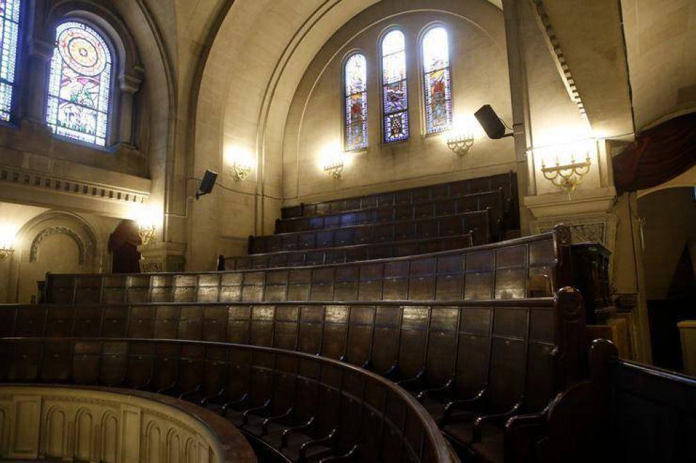 La sinagoga más antigua de Buenos Aires, que visitaron Albert Einstein y Angela Merkel