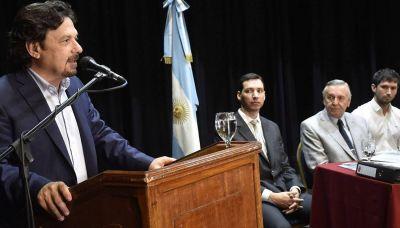 Sáenz presentó el plan final para mitigar inundaciones