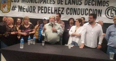 Derrota del candidato de Grindetti y Ayala en las elecciones del gremio de municipales de Lanús