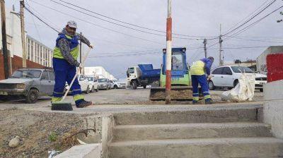 El programa Limpiando Comodoro retiró 19.670 m3 de basura durante 2018