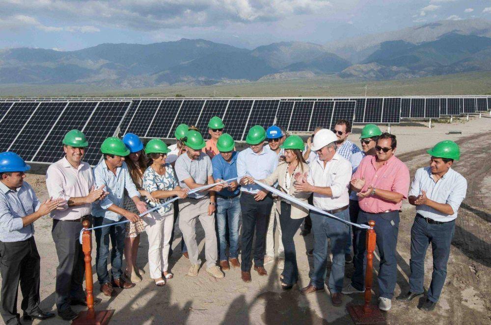 Se inauguró el Parque Solar de Saujil