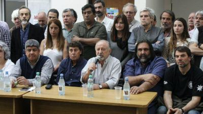 El sindicalismo opositor se declaró en