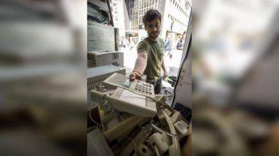 Uno de cada tres argentinos tiene en su casa basura electrónica y no sabe cómo reciclarla
